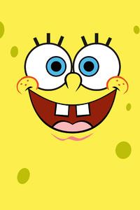 320x568 Spongebob Squarepants Minimalist 4k
