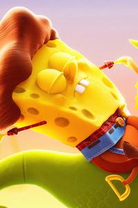 1440x2560 SpongeBob SquarePants The Cosmic Shake