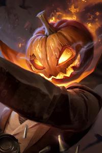 1440x2960 Spooky Jack Art