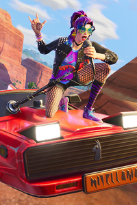 Stage Slayer And Synth Star Fortnite Battle Royale