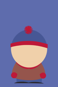 Stan Marsh South Park Minimalism 8k