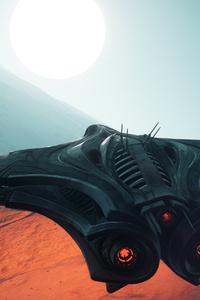 1080x1920 Star Citizen Game Spaceship