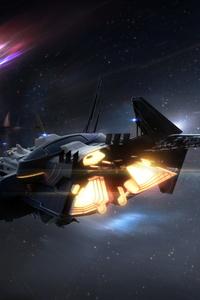Star Citizen Spaceship Planet