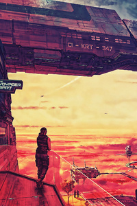 Star Citizen Video Game Concept Art