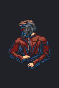 480x800 Star Lord 2020 Artwork