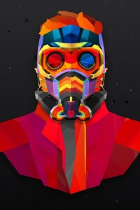 320x568 Star Lord Colorful Abstract