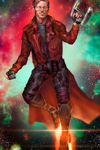 1242x2688 Star Lord Come With Me And Escape