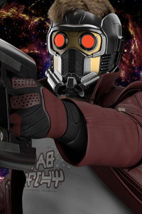 1125x2436 Star Lord Digital Art