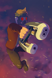 240x400 Star Lord Fan Artwork 2018