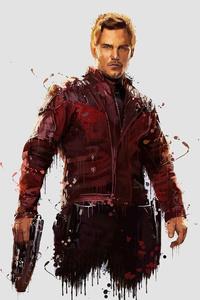 Star Lord In Avengers Infinity War 4k Artwork