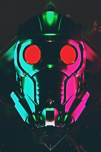 Star Lord Mask 4k