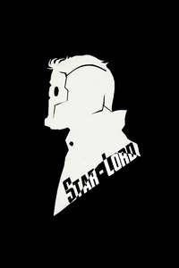 540x960 Star Lord Minimal Art 4k