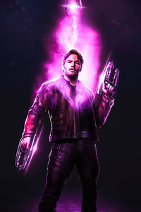 540x960 Star Lord Power Stone 4k