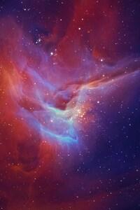 540x960 Star Nebula Glow