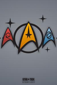 Star Trek Minimalism Logo 5k