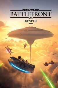 Star Wars Battlefront Bespin Key Art