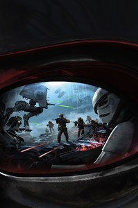 480x800 Star Wars Battlefront Darth Vader