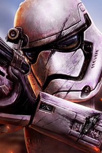 480x800 Star Wars Battlefront Stormtrooper