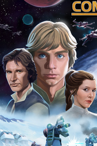 240x320 Star Wars Commander Strikes Back