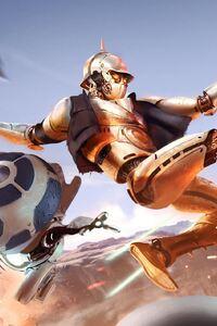1280x2120 Star Wars Fight Scifi