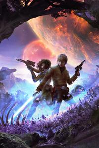 320x480 Star Wars Heir To The Jedi 4k