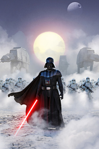 1440x2560 Star Wars Imperial March 4k