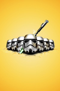 1080x1920 Star Wars Minimal Logo 4k