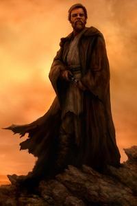 Star Wars Obi Wan Artwork