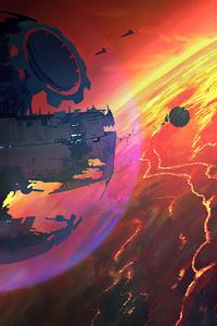 480x800 Star Wars Planet