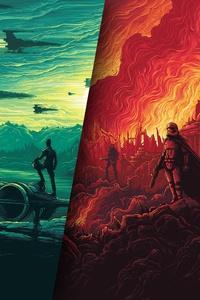 640x960 Star Wars Poster 4k