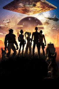 Star Wars Rebels Key Art