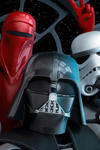 1080x1920 Star Wars Revenge Of The 5th Selfie 4k