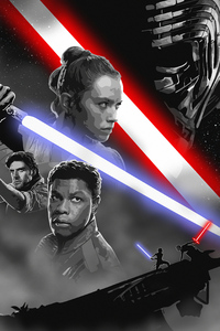 Star Wars Rise Of Skywalker Art