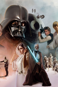Star Wars Scifi Artwork