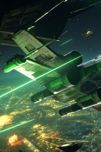 1080x2160 Star Wars Squadrons 2021 X Wing Starfighter