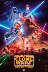 1242x2688 Star Wars The Clone Wars 4k
