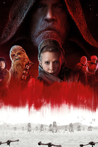 1080x2160 Star Wars The Last Jedi 8k