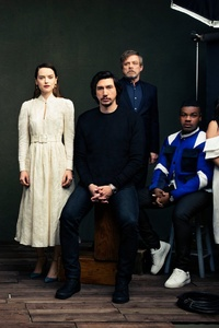 1080x1920 Star Wars The Last Jedi Cast Photoshoot Vanity Fair