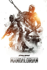 Star Wars The Mandalorian Season 2 Poster 4k