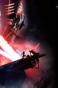 320x568 Star Wars The Rise Of Skywalker 12k