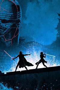 640x1136 Star Wars The Rise Of Skywalker 5k