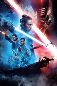 320x568 Star Wars The Rise Of Skywalker New 8k