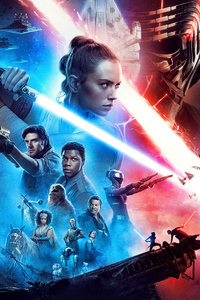 360x640 Star Wars The Rise Of Skywalker New Poster 4k