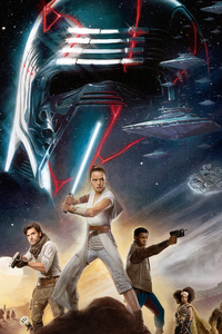 Star Wars The Rise Of Skywalker New Poster Imax