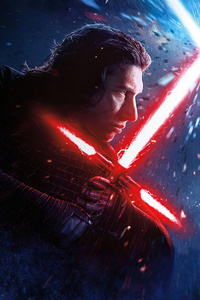 1080x2280 Star Wars The Rise Of Skywalker Poster 4k 2019