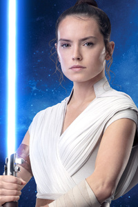 240x320 Star Wars The Rise Of Skywalker Poster Rey
