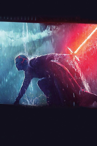Star Wars The Rise Of Skywalker Rey Vs Kylo Ren