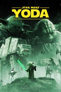 1242x2688 Star Wars Yoda