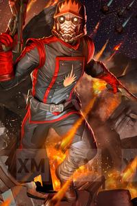 1080x2160 Starlord Marvel 4k