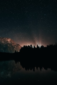 Starry Astronomy Night 4k